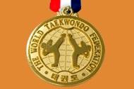 1 taekwondo medal