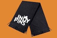 1 black scarf