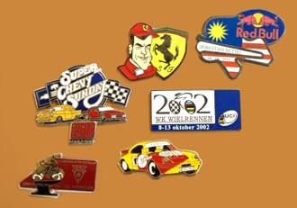 6 formula one pins